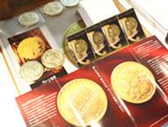 金地金・コインを扱っています。