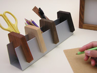 pen & card stand