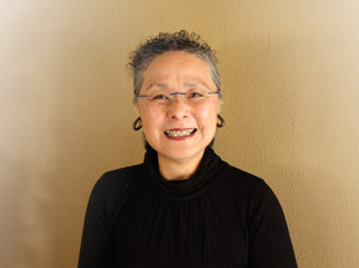 2011年4月 相田みつをゆかりの店 めん割烹なか川の美人さん