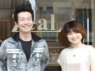 店長の太田さんと富岡さん