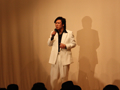 歌謡ショー 榊やすまささんのステージ