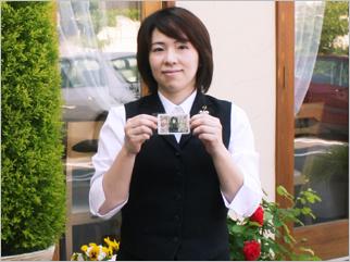 2008年5月 Restaurant Vivre sa vie(ヴィーヴル)の美人さん